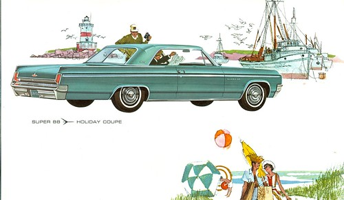 1963 Oldsmobile Super 88 Holiday Coupe | by coconv