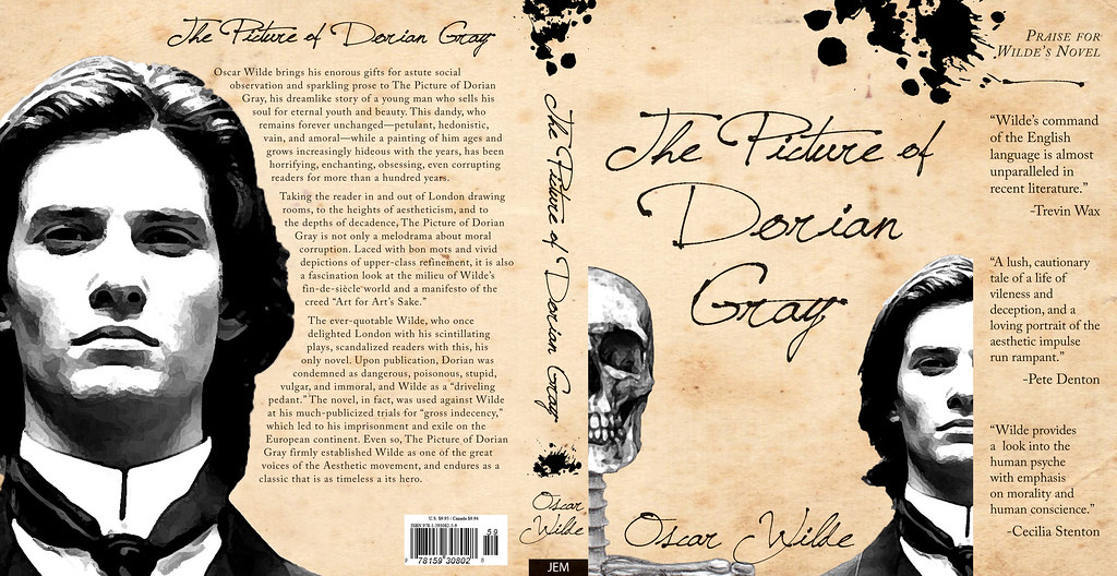 Character Design In The Picture Of Dorian Gray : Book cover the picture of dorian gray another