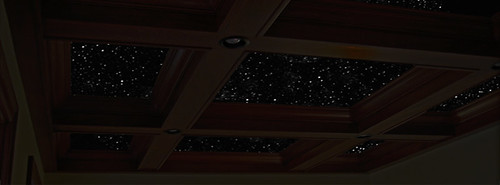night sky murals painting on a coffered ceiling one of my flickr. Black Bedroom Furniture Sets. Home Design Ideas