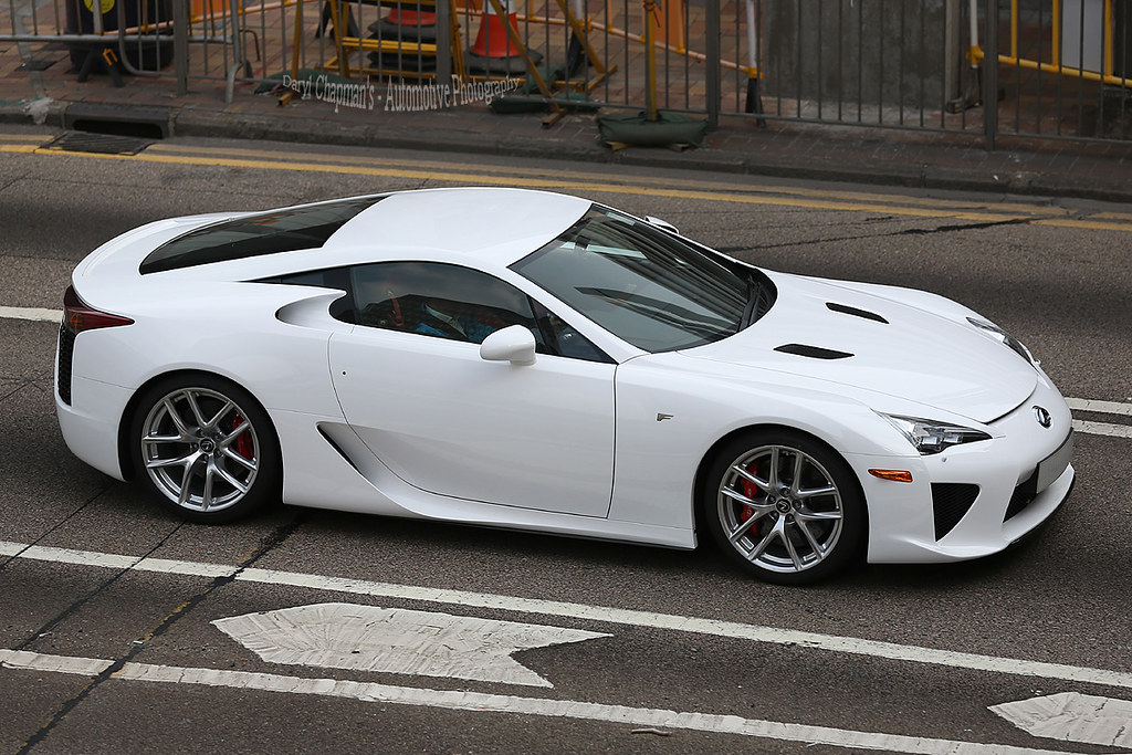 Lexus Lfa Admiralty Hong Kong Lfa Number 3 For Me And Flickr