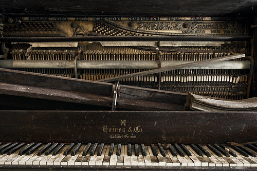 the old piano out at the river | by jody9