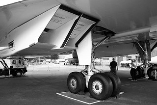 Concorde Gear and Intake BW | by Little Boffin (PeterEdin)