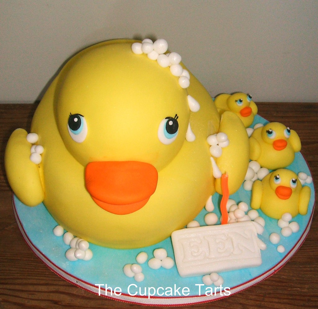 Rubber Duck This Duck Is Completely Cake The Head Is A