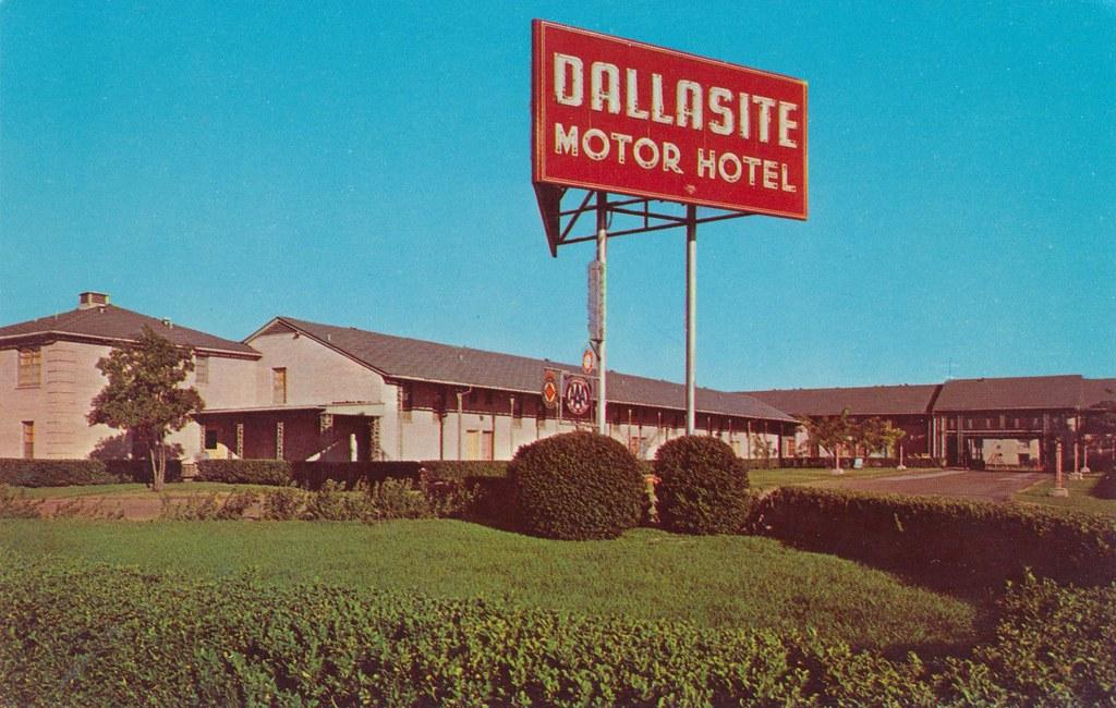 Dallasite Motor Hotel - Dallas, Texas