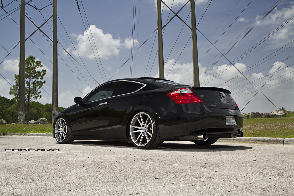 Honda Accord Coupe Concavo Wheels Cw S5 Honda Accord