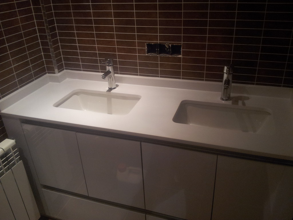 Lavabos de silestone lavabos silestone with lavabos de silestone lavabos with lavabos de - Encimera bano silestone ...