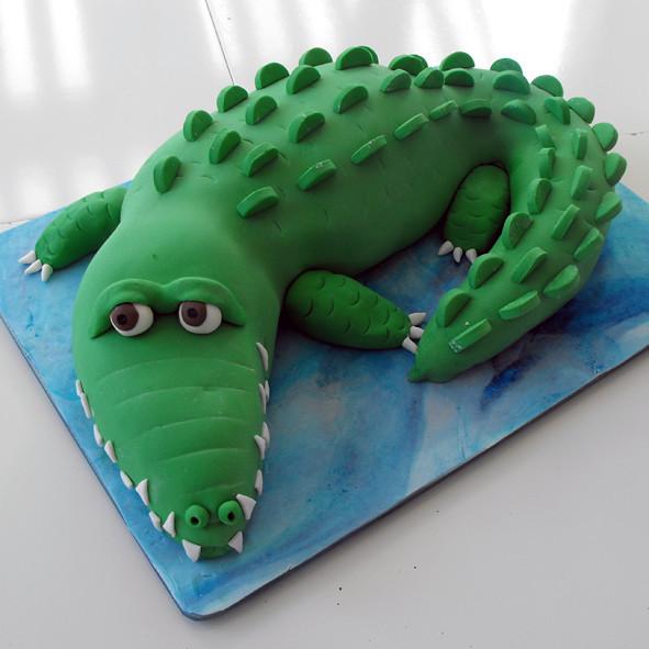 Crocodile Cake Pan