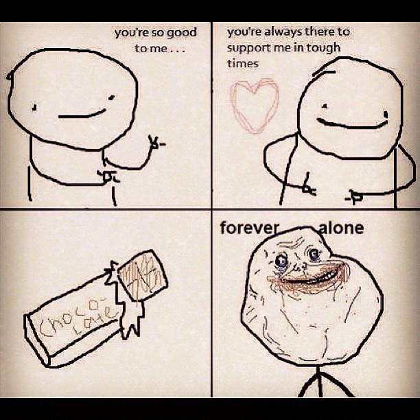 foreveralone #nationalboyfriendday | CourtneyCG | Flickr