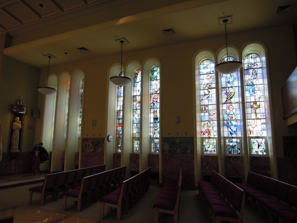 Chapel at Cardinal Glennon Childrens Hospital in St. Loui ...