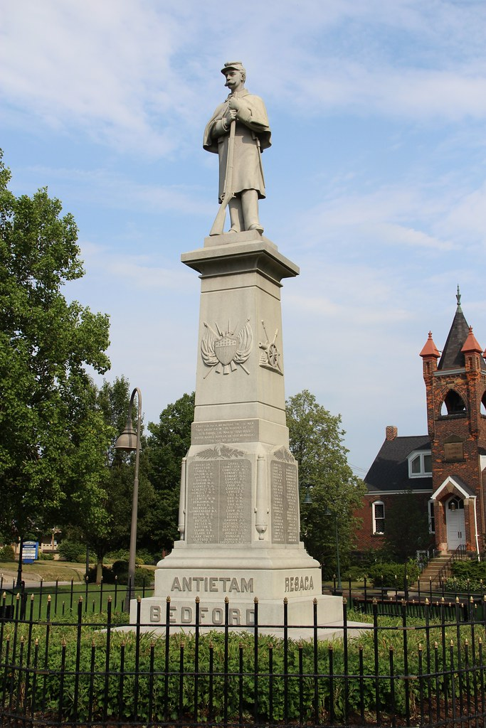 Bedford Civil War Monument (Bedford, Ohio) | 1886 Civil ...