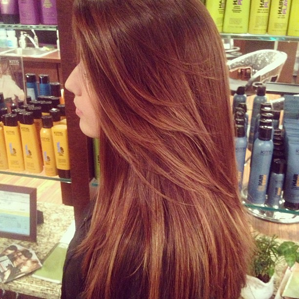 Soft Ombre With Brown Hair Light Brown Ends On Nico Sand Flickr