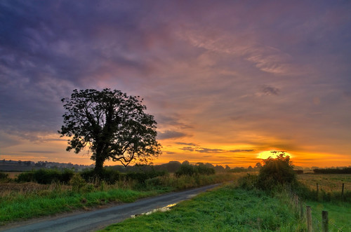Rural sunrise. | by paul downing
