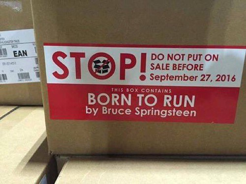 Born to run - Do not sell