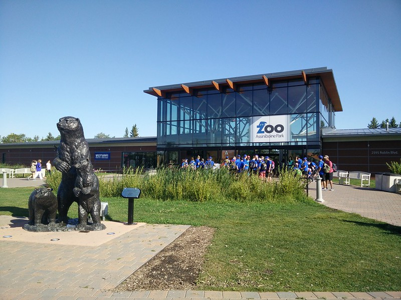 Assiniboine Zoo Entrance | packmeto.com
