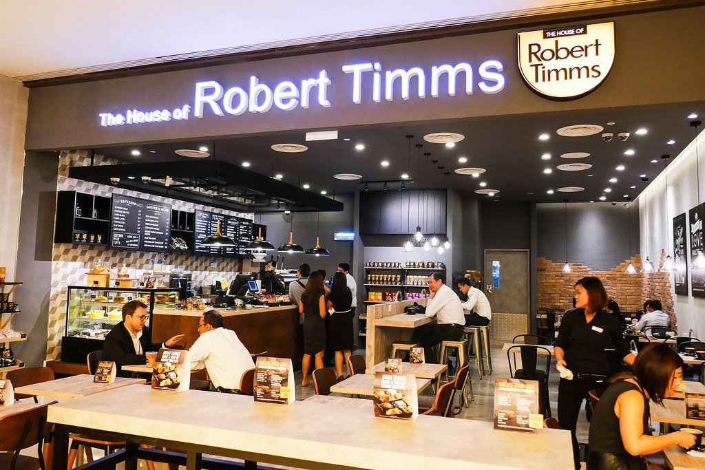 The House of Robert Timms @ Marina Bay Link Mall