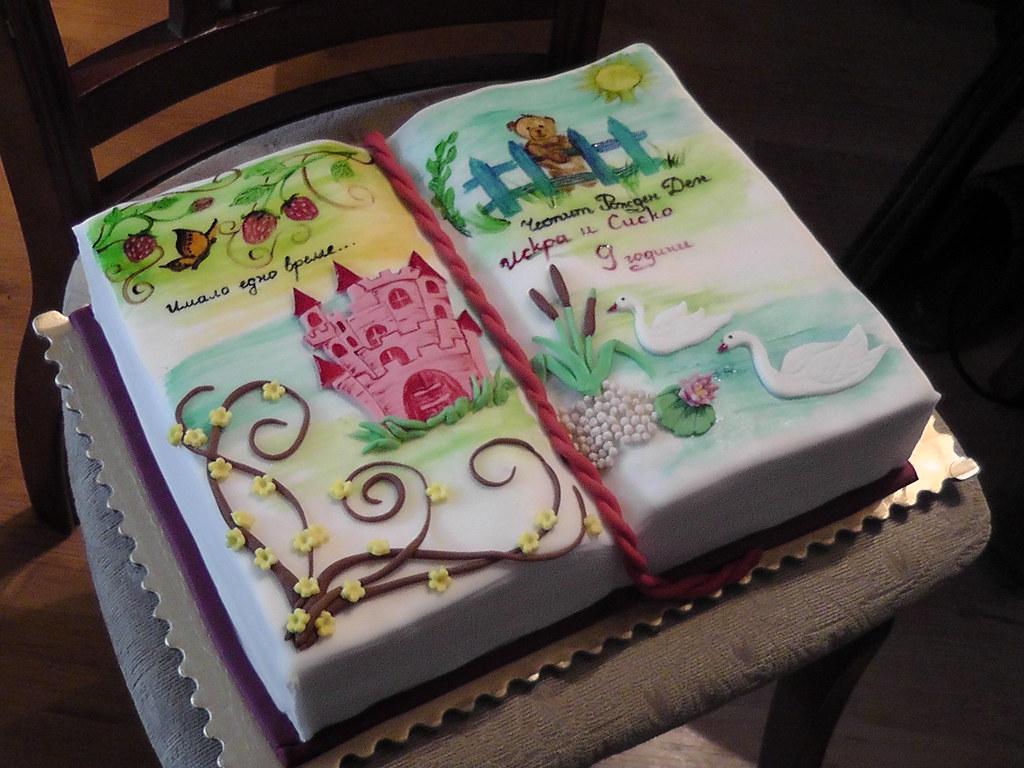 Story Book Birthday Cakes