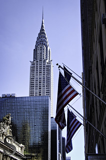 NYC Chrysler and Flags- | by Singing With Light