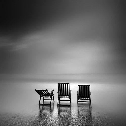 Old chairs and the sea | by Kees Smans