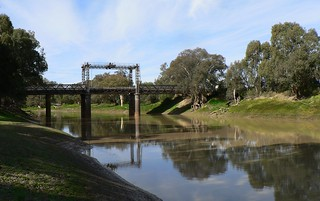 Bridge Across the Darling River at Wilcannia | by The Pocket Rocket, On and Off.