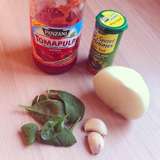 Easy pizza ingredients. #formyblog | by PutYourFlareOn