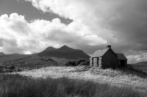 The Old Dog Kennel, Elphin, Sutherland, Scottish Highlands | by scotscapes