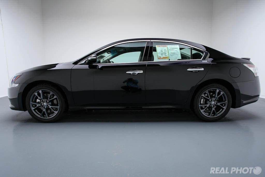 2012 Nissan Maxima Black 2012 Nissan Maxima Black In The