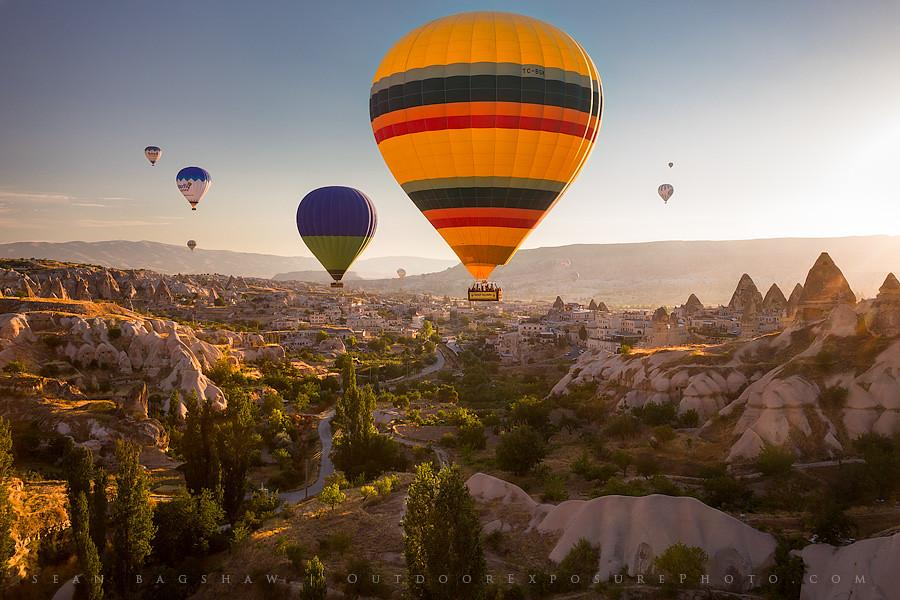 Sunrise Balloon Ride Cappadocia Turkey Hot Air