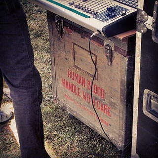 #RockTheGreen Best soundboard stand ever. | by Opal in the rough