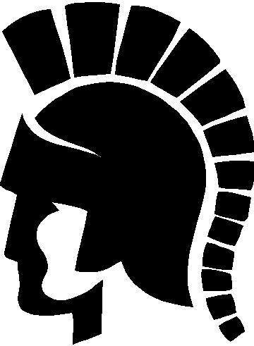 trojan logo black bold simple macjetlife flickr rh flickr com  trojan head logo vector
