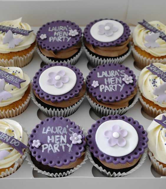 Hen Party Cupcakes Flickr - Photo Sharing!