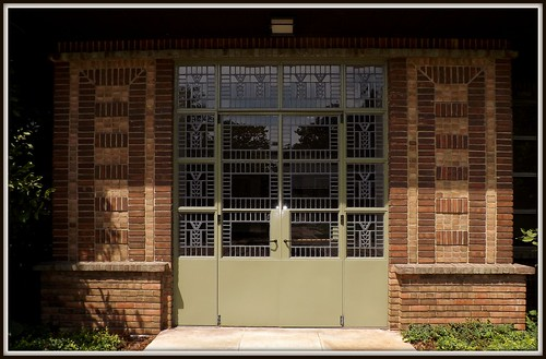 Doors and Surrounding Brickwork: Kingswood School | by pinehurst19475
