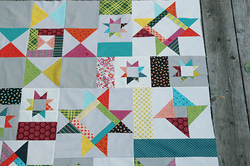 Starfall Quilt Top | by Fresh Lemons : Faith