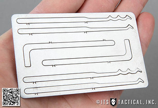 ITS Titanium Entry Card 01 | by ITS Tactical
