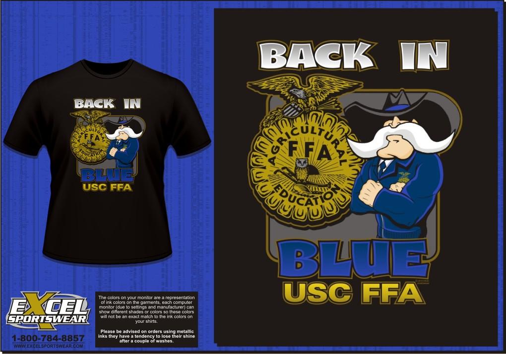 Ffa united south central high school wells mn custom for Ffa t shirt design