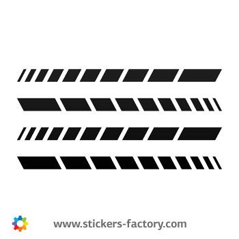 Tribal racing design sticker decal 01081 by stickers factory