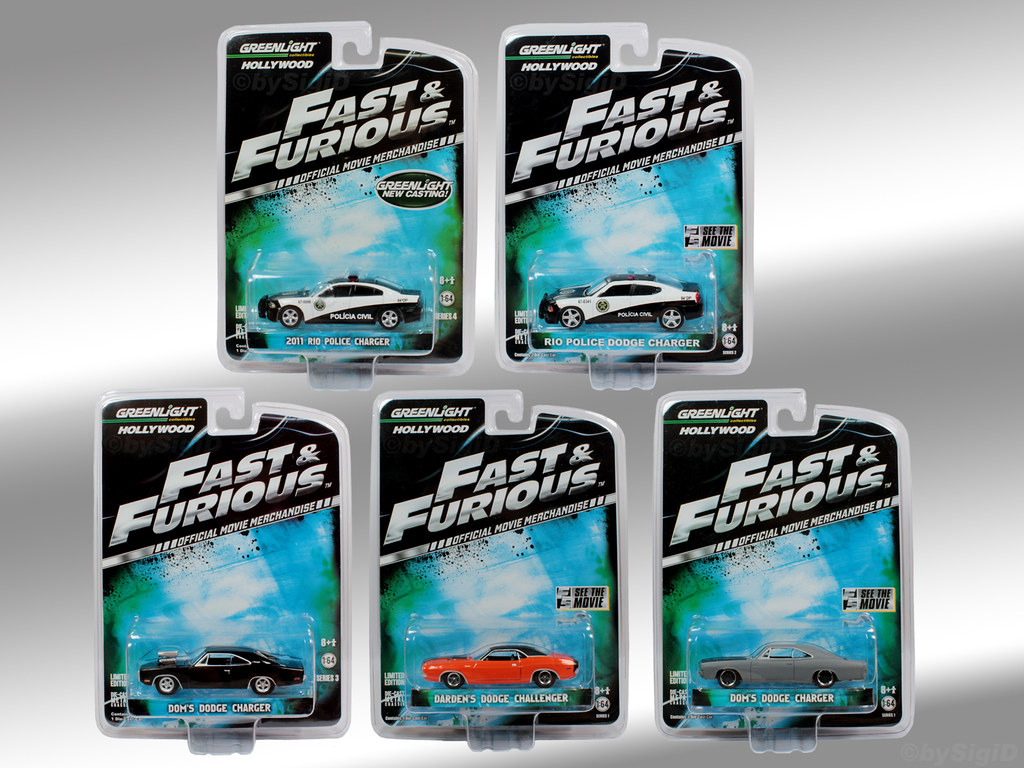 1 64 Fast And Furious Collection Greenlight 1 64 Fast
