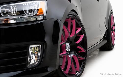"VMR Wheels | 19"" Matte Black Uni V710 Black VW MKVI Jetta ..."