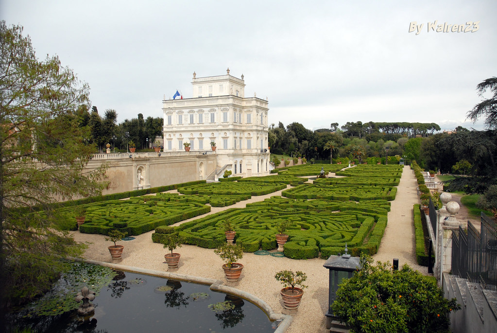 Casino del bel respiro giardino segreto villa doria pa flickr - Il giardino segreto roma ...