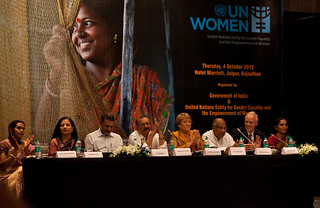 UN Women Executive Director Michelle Bachelet attends the National Leadership Summit in Jaipur, India on 4 October 2012 | by UN Women Gallery