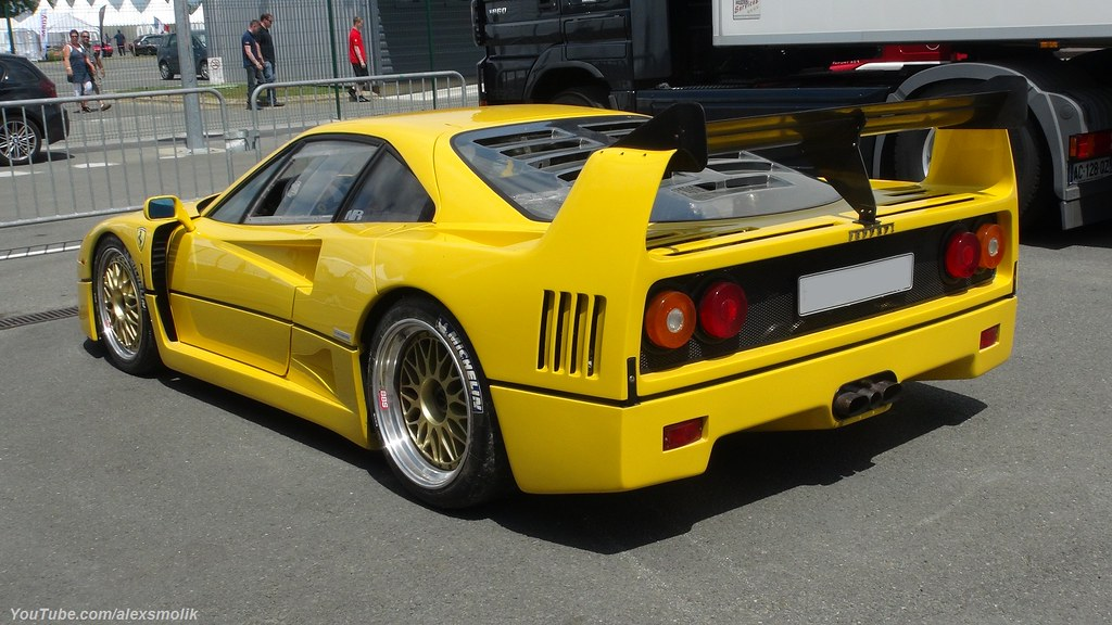 Ferrari >> Yellow F40 | Yellow Ferrari F40, with an LM kit and... I hav… | Flickr