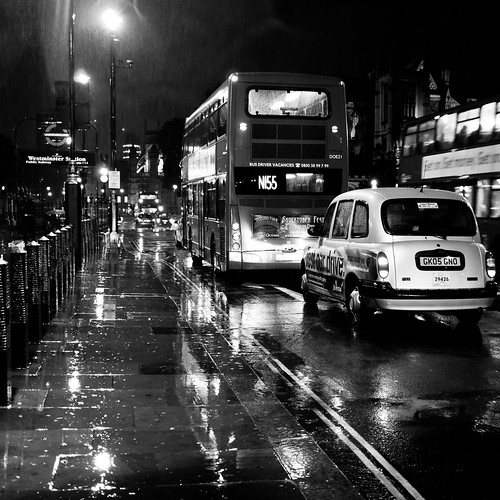 Rainy London Traffic | by Robin Baumgarten