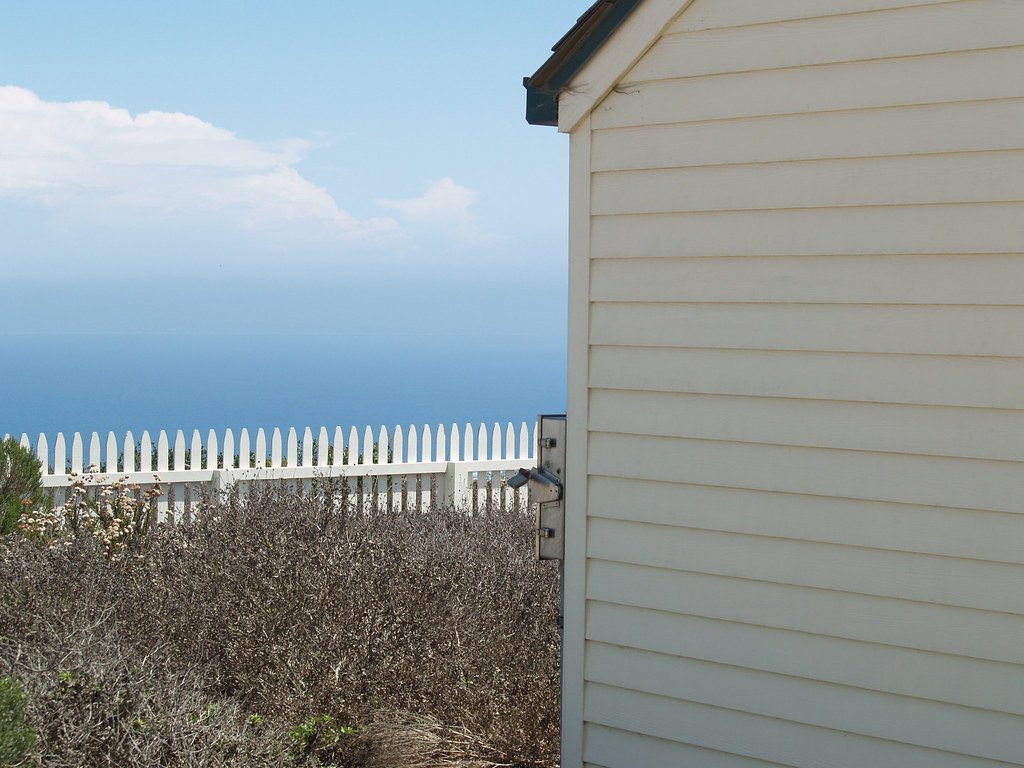 Picket Fence At Cabrillo National Monument In San Diego