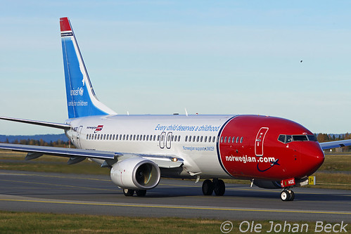 B737-8JP LN-NGE at ENGM/OSL 06-10-2012 | by Ole Johan Beck