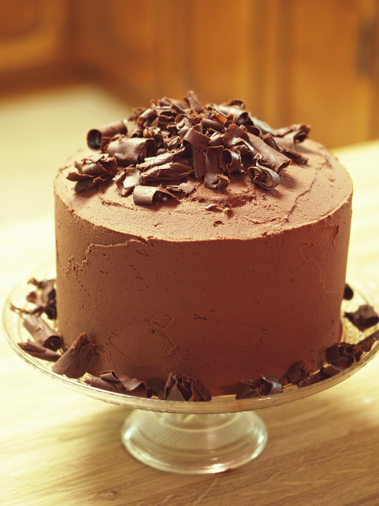 Big Chocolate Birthday Cake | from The Pioneer Woman It was … | Flickr