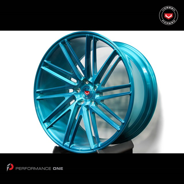 Wheel Wednesday · VOSSEN Forged Precision Series · VPS-307T finished in Brushed Deco Teal
