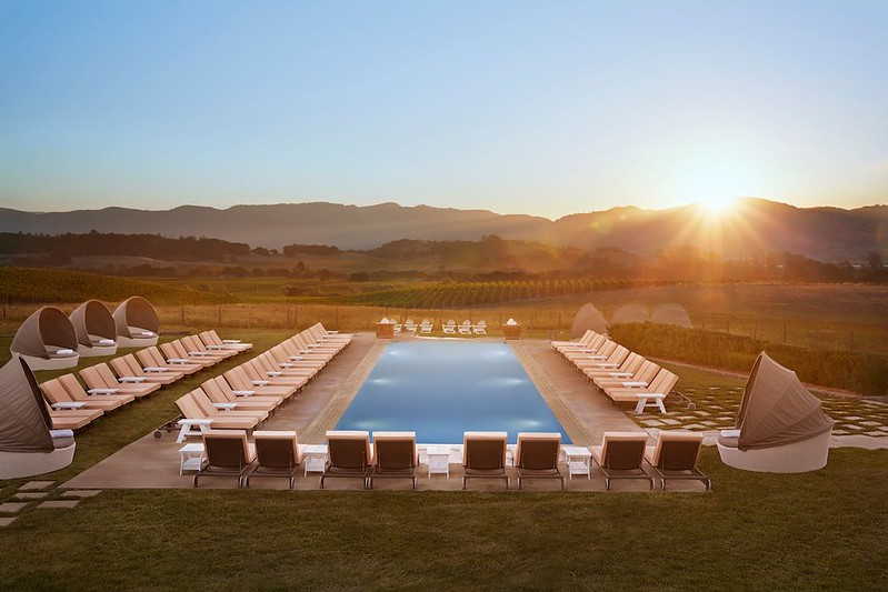 Sunset at The Carneros Inn