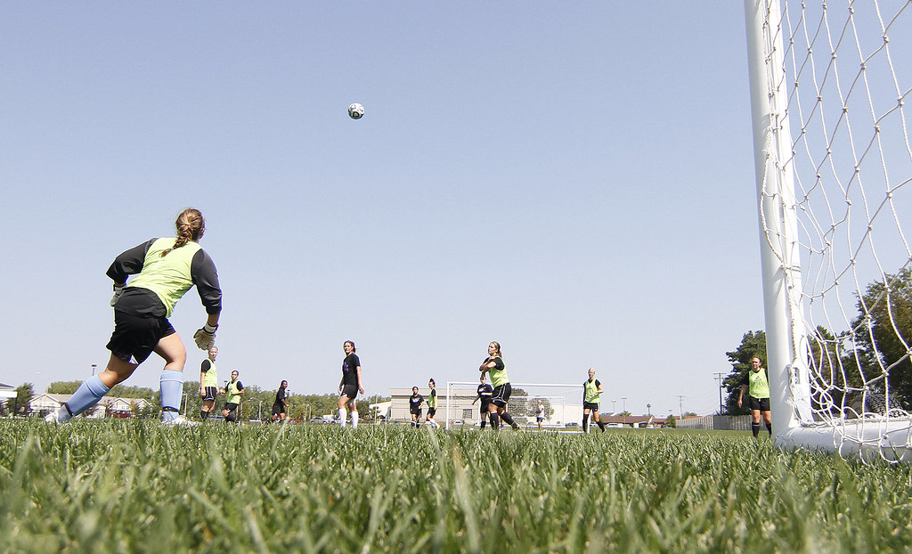 The women's soccer team prepares for their first game of t ...