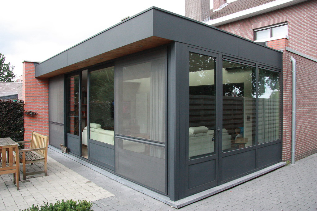 uitbouw veranda modern aluminium moderne veranda alumi flickr. Black Bedroom Furniture Sets. Home Design Ideas