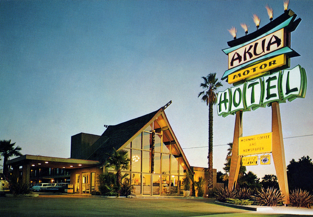 Akua Motor Hotel Anaheim 1018 E Orangethorpe Anaheim