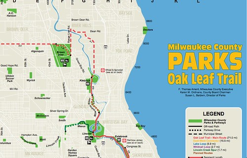 Oak Leaf Trail Map AFP CV